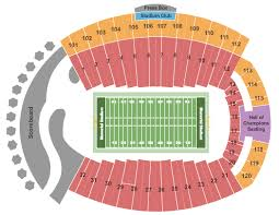 Memorial Stadium Indiana Seating Chart Bloomington
