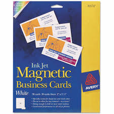 avery magnetic business cards x white sheet pack avery magnetic business cards 2 x 3 1 2 white 10 sheet 30 pack com