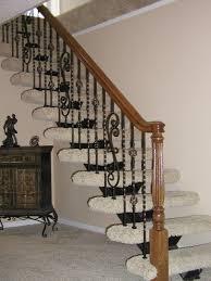 Iron Stairs Design Indoor Interior Stair Railing Designs Indoor Wood Iron Railings