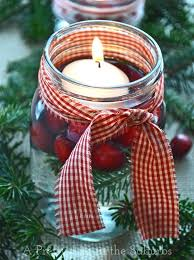 Mason Jar Decorations For Christmas Simple Pretty Christmas Centrepieces A Pretty Life In The Suburbs 63
