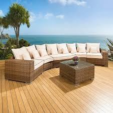high end garden furniture. luxury outdoor rattan garden furniture sofa setgroup browncream 29 truly stunning high end o