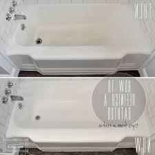 permalink to diy reglazing bathtub