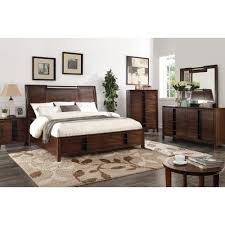 aspen bedroom bed dresser mirror queen 61560