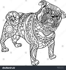 Small Picture Pug Coloring Pages To Print Elioleracom