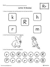 Custom Letter Art Template Inspiration Uppercase Letter R Template Printable MyTeachingStation