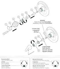 moen shower parts shower faucet diagram