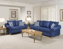 amazing blue living room furniture ideas dark blue microfiber arms sofa sets brown lacquered wood simple