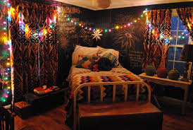 lighting for teenage bedroom. Impressing Christmas Teen Bedroom Decor Featuring Colorful Lights Wire Arrangement Across And Star Lighting For Teenage N