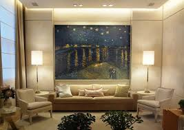 starry night over the rhone interior