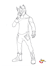 Fortnite Rifle Scar Coloring Page Jhhhy Coloring Pages Free