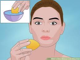 image led make makeup look airbrushed step 6
