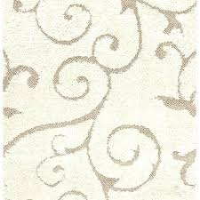 swirl pattern area rug blue evolution