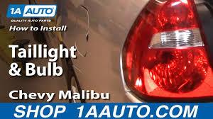 2004 Chevy Malibu Brake Light Bulb How To Install Replace Taillight And Bulb Chevy Malibu 04 08 1aauto Com