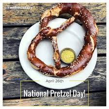 Pretzel Charts National Pretzel Day Foodimentary National Food Holidays