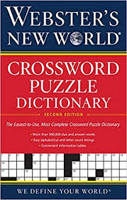 webster s new world crossword puzzle dictionary 2nd ed reprint edition