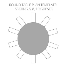 10 Person Round Table Seating Chart Template Www