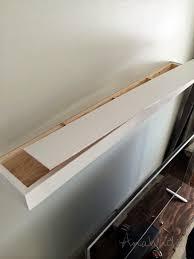 floating shelf plans wall shelves diy standart also units best ana white floating h7