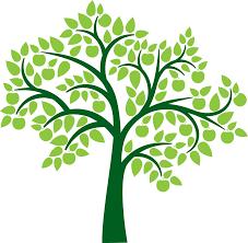 green apple tree clipart. family tree, green, apples, growth, abstract green apple tree clipart a