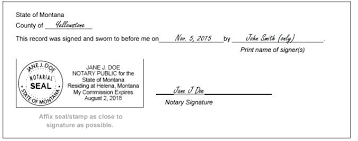 Samples Of Notary Letters Free Notarized Letter Template Signature Sample Notary Page Samples