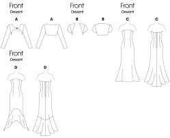 Shrug Pattern Enchanting B48 Misses'Misses' Petite Shrugs And Strapless Dresses Sewing