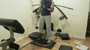 Weider Max Ultra Exercise Chart Workout On The Weider Crossbow Max Showing A Few Exercise