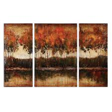 on wall art sets for dining room with trilakes canvas wall art set of 3