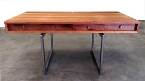 buy a hand made mid century modern desk made to order from