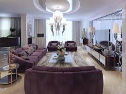 luxury bedroom furniture purple elements. This Living Room As A Unique And Beautiful Chandelier To Provide The Light.  The Silver Luxury Bedroom Furniture Purple Elements