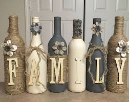 Wine Bottles Decoration Ideas Diy Spray Painted Wine Bottles 100 Decorating Ideas 100 Home Design 6