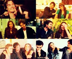 ian somerhalder and nina dobrev images just the cutest couple wallpaper and background photos