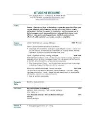 Resume With No Work Experience Example Inspiration Resume Original ...