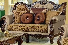 Traditional Living Room Furniture Jenna Furniture Import Export Inc