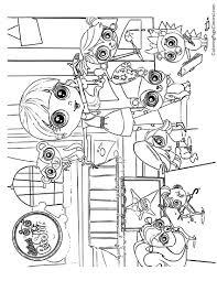 Littlest Pet Shop 01 Coloring Page | Coloring Page Central