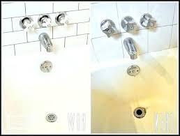 rustoleum tub and tile tub and tile paint refinishing kit bathtub white rust rustoleum tub