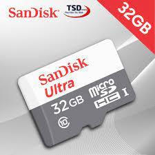 Thẻ Nhớ 32GB Micro SD Sandisk 80mb/s Chính Hãng