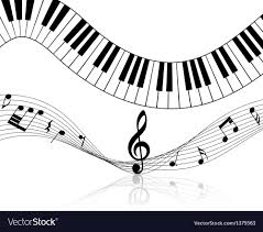 A Music Staff Music Staff Royalty Free Vector Image Vectorstock