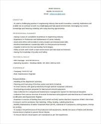 Current Resume Formats Stunning 48 Resume Format Samples Sample Templates
