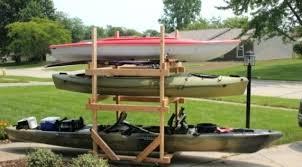 l1667614 kayak storage rack kayak storage outdoor
