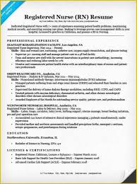 Rn Resume Samples Free Resume Templates For Lpn Nurses Of Nurse Lpn Resume