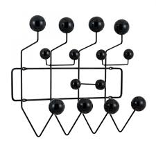 Hang It All Coat Rack Black Eames Hang It All Modern Coat Hangers Cult Furniture 65
