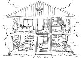 House Coloring Sheets Free Printable House Coloring Pages For Kids