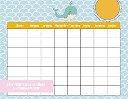 Cute Chore Chart Free Printable Chore Charts 8 Absolutely Cute Designs