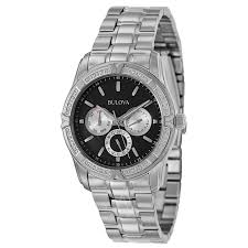 bulova diamonds 96e115 men s watch watches bulova men s diamonds watch
