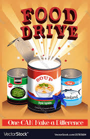 Food Drive Posters Food Drive Poster