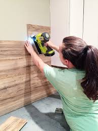 Pallet Wood Backsplash Laminate Flooring Backsplash It Looks Like Wood Ship Lap