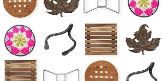 17 best trivet sets and coasters in 2018 fun trivets for hot pots and pans