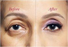 good exle and tips for droopy eye makeup