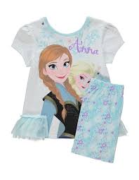 disney frozen pyjama set kids