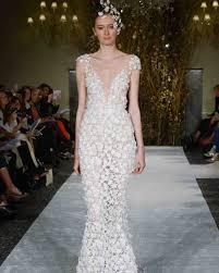 the 9 best wedding dress trends from bridal fashion week martha