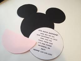 minnie mouse printable invitations